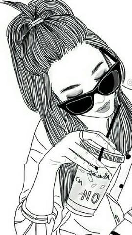 Wie Nennen Sich Diese Zeichnungen Madchen Zeichnung Schwarz Weiss