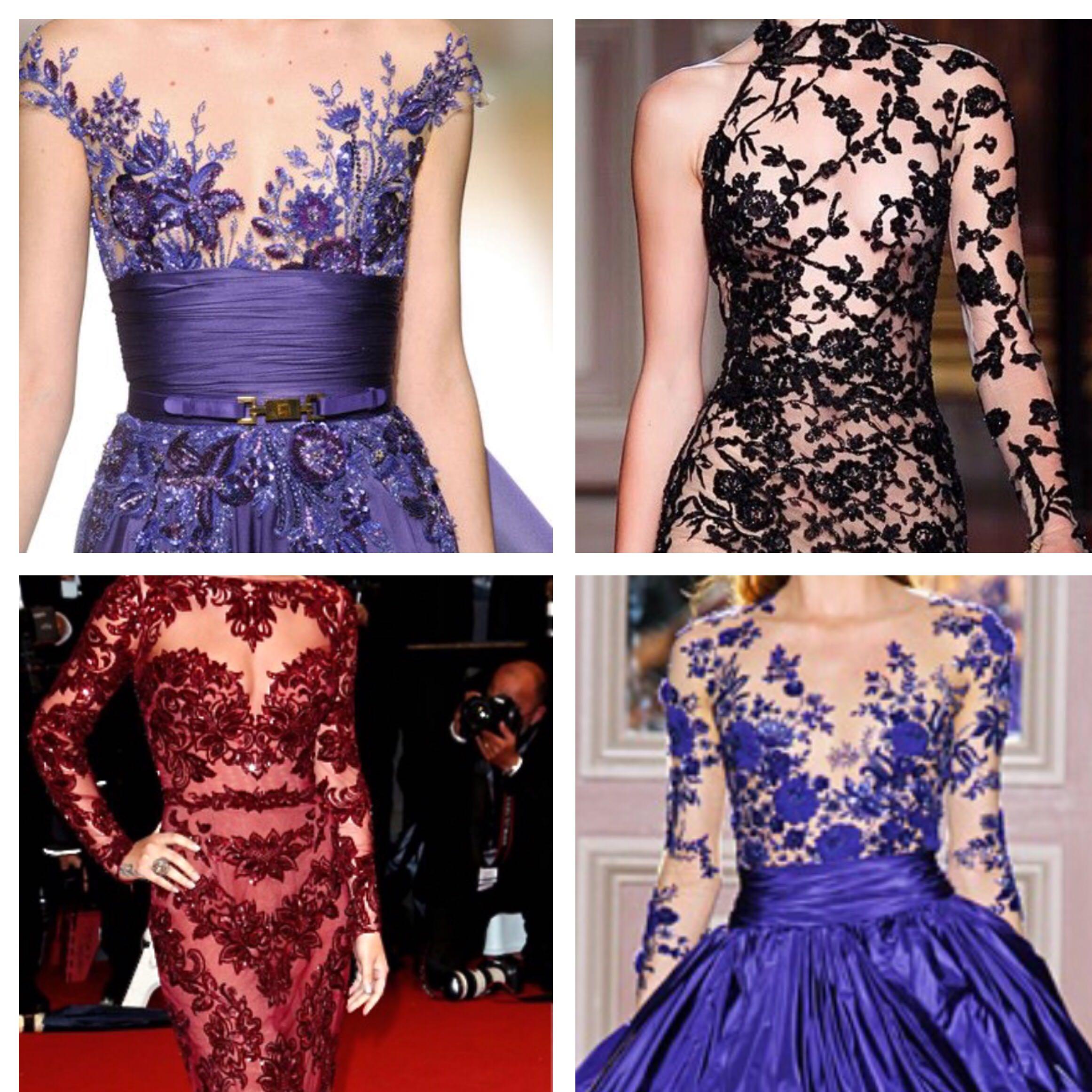Kleid spitze transparent