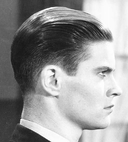 Wie Nennt Man Den Männlichen Haarschnitt Der 30er Jahre Siehe Bilder