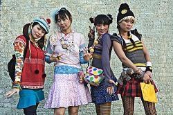 Wie nennt man die japanische verrückte mode für die heutige Jugend?