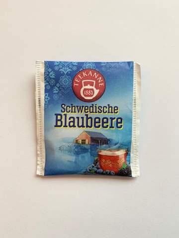 Wie nennt man die Verpackung um einen Teebeutel?