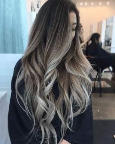 Wie nennt man diese Haarfarbe/ Art?