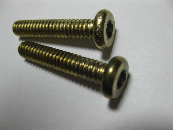 Metallschrauben Inbus - (Freizeit, Gewindebezeichnung, schraubenart)
