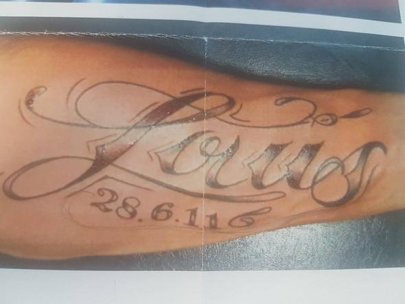 Gesuchte Schriftart - (Computer, Kunst, Tattoo)