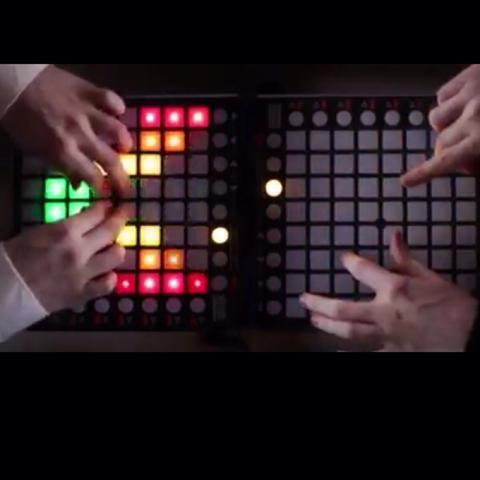 Hier sieht man die Instrumente  - (DJ, Instrument, Musiker)