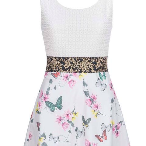 Dieses Kleid z.B - (Kleid, Blumen, Muster)