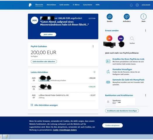 Paypal Geld Zurückziehen