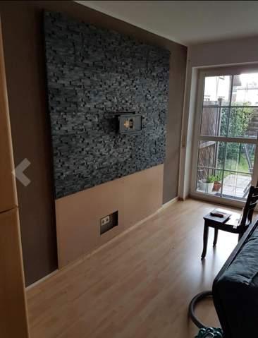 Wie nennt sich diese Wandpappe siehe Foto?