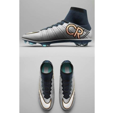Es handelt sich um den grauen Schuh von cristiano Ronaldo  - (reinigen, Fussballschuhe, Kunstrasen)