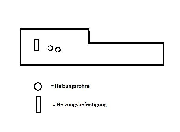 wie passe ich das laminat den heizungsrohren an laminat verlegen heizungsrohr. Black Bedroom Furniture Sets. Home Design Ideas