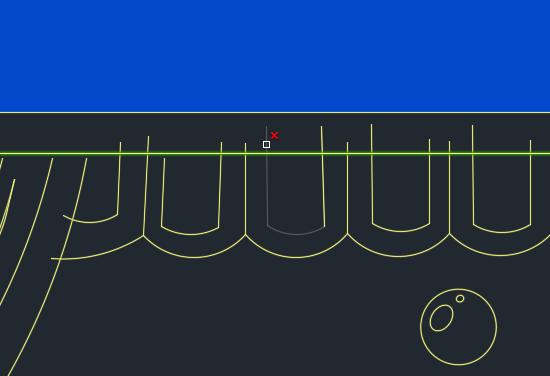 AutoCad stutzt nicht an aktivierter Stutzkante - (PC, Software, Befehle)