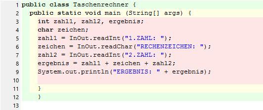 Der Code - (programmieren, Java, Anfänger)