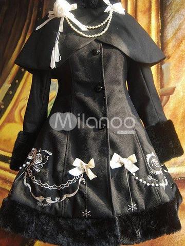 Lolita Mantel - (Kleid, nähen)