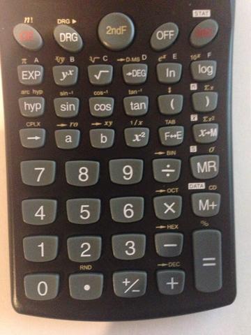 Taschenrechner - (Schule, Mathe, Zahlen)