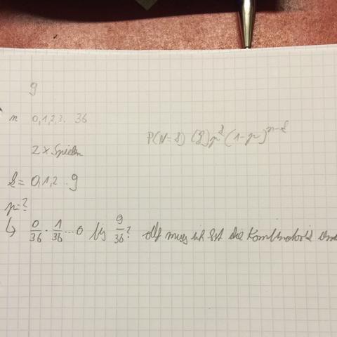 Mein Ansatz  - (Mathe, Wahrscheinlichkeit, roulette)