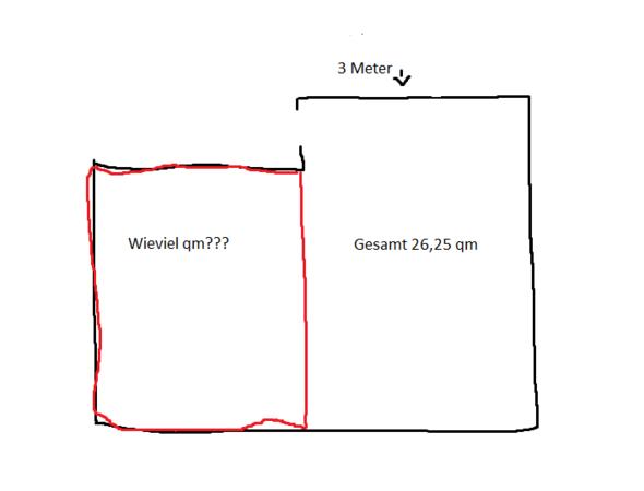 wie rechne ich das aus wieviel qm ist das berechnen. Black Bedroom Furniture Sets. Home Design Ideas