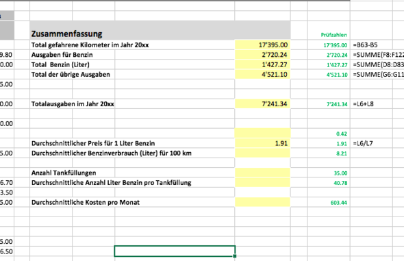 siehe Felder rechts - (Excel, Word)