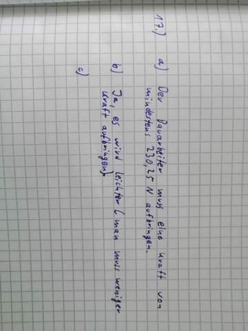 Wie rechne ich diese Aufgabe in Physik?