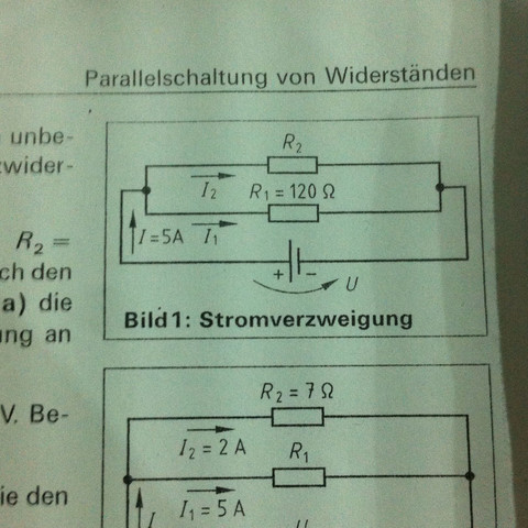 Aufgabe,Physik  - (Technik, Physik, Strom)