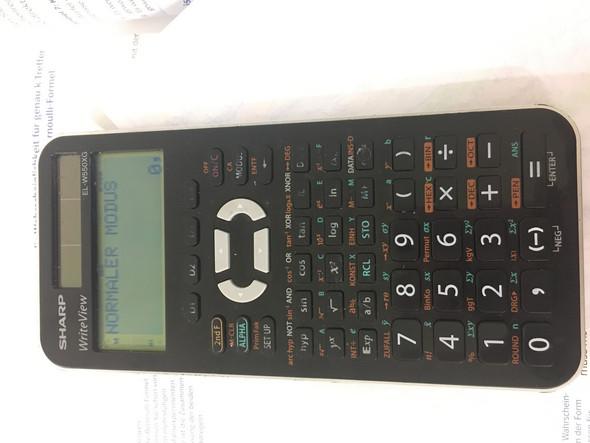 Wie rechnet man Bei diesem Taschenrechner mit Potenzen ich will 8 hoch 15 eingeben jedoch finde ich es bei diesen Taschenrechner nicht?