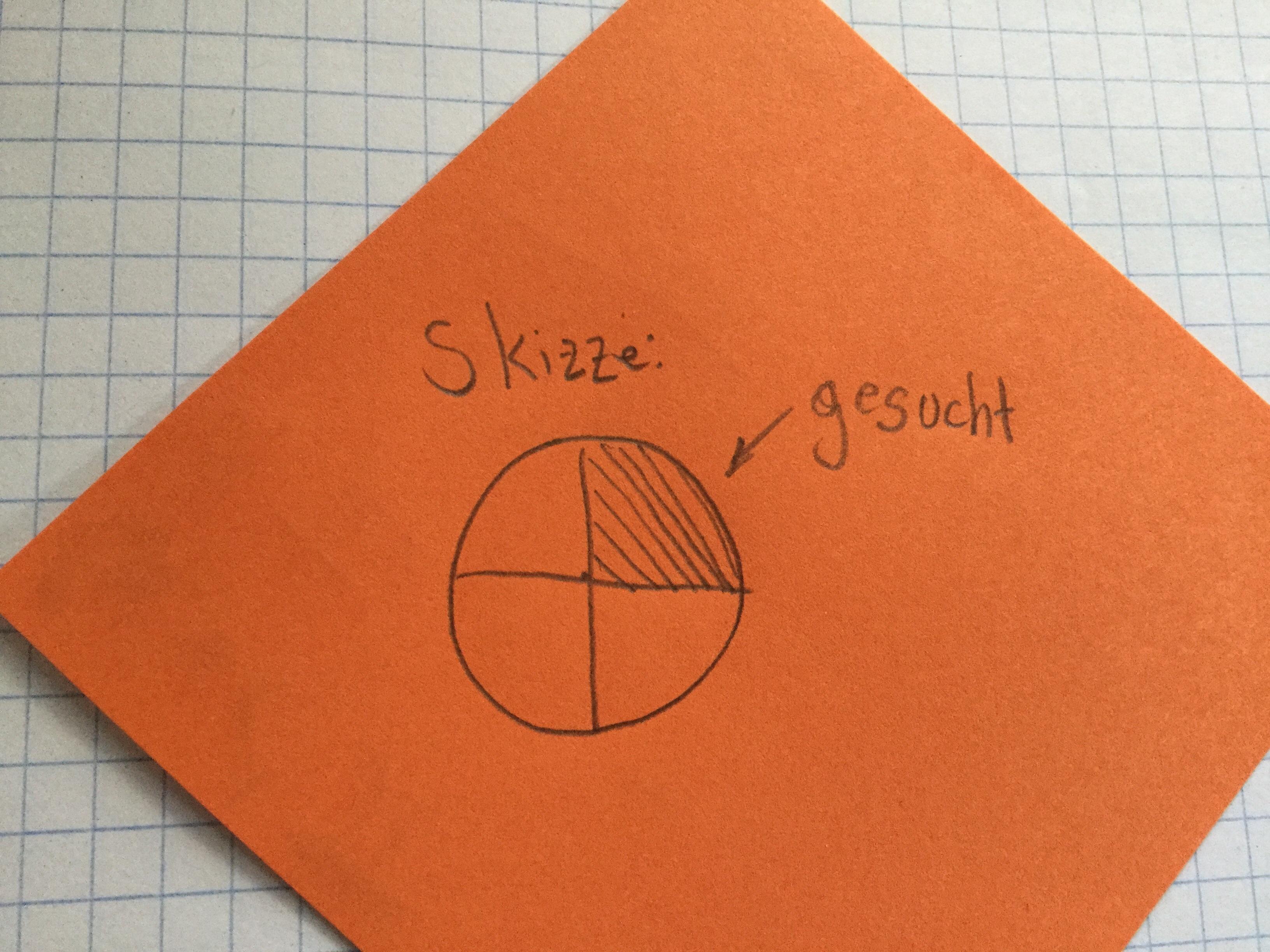 Wie Rechnet Man Das Beim Kreis Aus? (Mathe