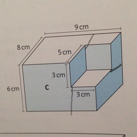 Ich muss das Volumen herausfinden... Wie geht das? - (Rechnung)