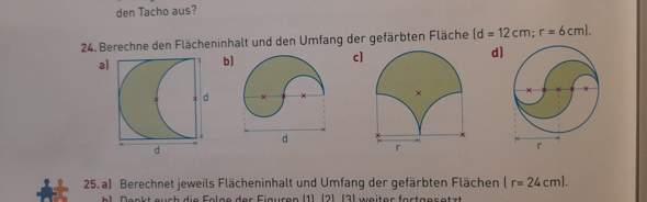 Wie rechnet man den Flächeninhalt und den Umfang der Figuren aus?