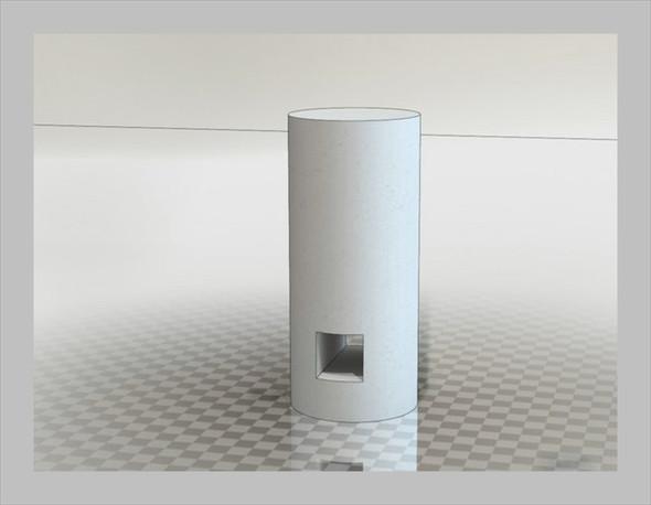Der Zylinder, zu dem das Volumen berechnet werden muss - (Körper, Mathe, Geometrie)