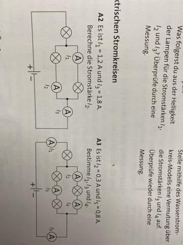 Wie rechnet man die Stromstärke aus?
