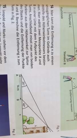 Wie rechnet man die Matheaufgabe Nrummer 14?