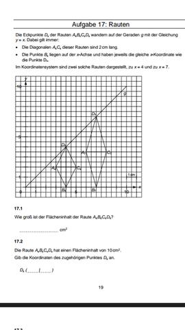 Teil 1 - (Mathematik, Raute)