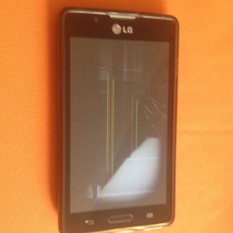 Ich glaub das lcd ist kaputt - (Handy, Reparatur, LG)