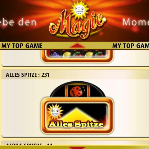 Das ist das Spiel wie schalte ich alles spitze frei  - (Casino, Merkur)