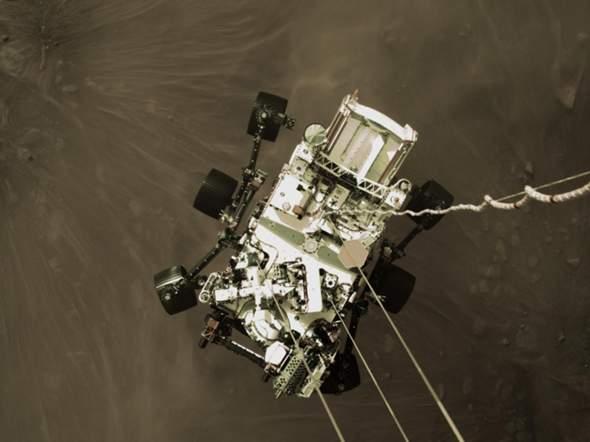 Wie schickt ein Marsrover Bilder zur Erde?