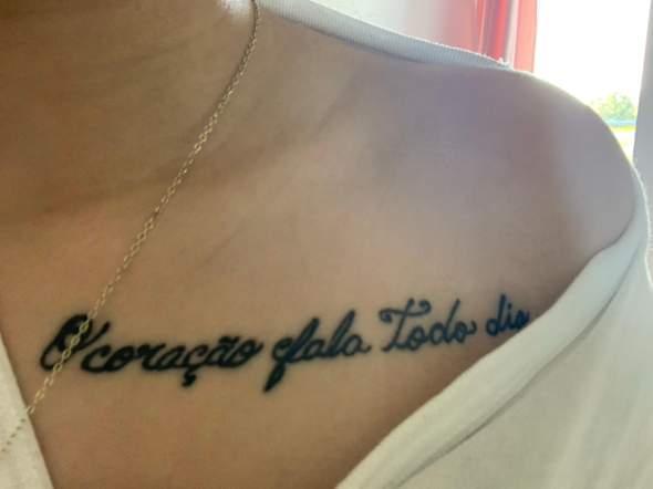 - (Gesundheit und Medizin, Tattoo, tätowieren)