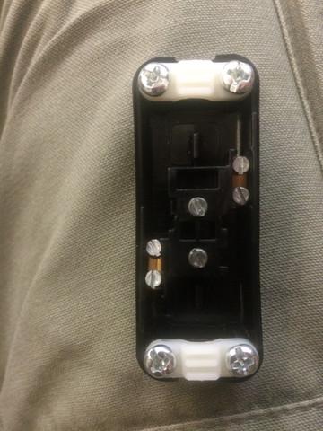 Wie schließe ich die Kabel bei diesem Schalter an? (Elektronik ...