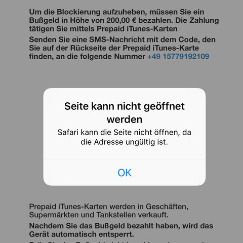 Hilfe - (Handy, Virus, Bussgeld)