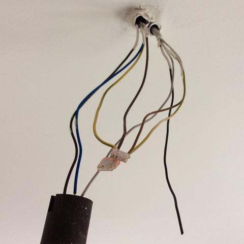 Wie Schliesse Ich Eine Lampe An 8 Kabeln An Montieren