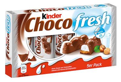 Wie schmeckt Kinder Choco Fresh?