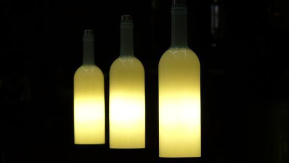 Flaschen Lampe - (Freizeit, Ideen, Licht)