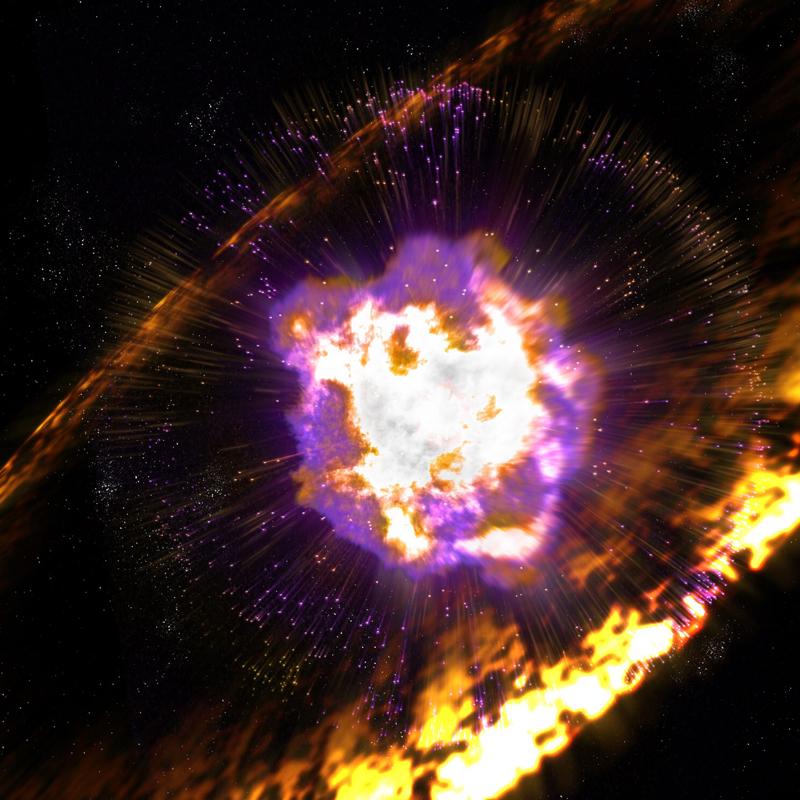 Supernova Typ 2