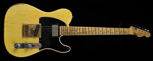 Heavy Relic (mir gehts hauptsächlich ums griffbrett) - (Gitarre, Instrument, E-Gitarre)
