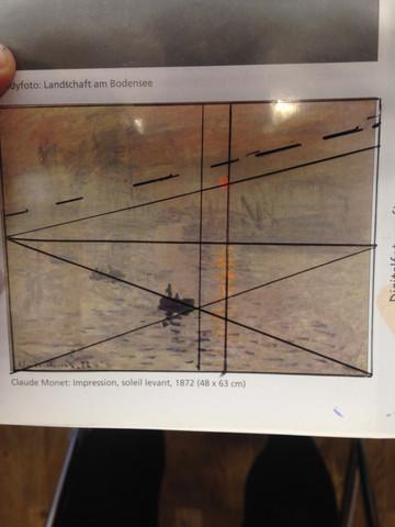 Meine Kompositionsskizze - (Kunst, Klausur, Analyse)