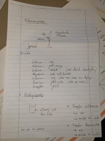 Wie schreibt man ein Protokoll in Chemie?