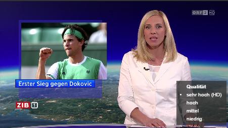 ORF: Novak Djokovic - (Name, Novak Djokovic)