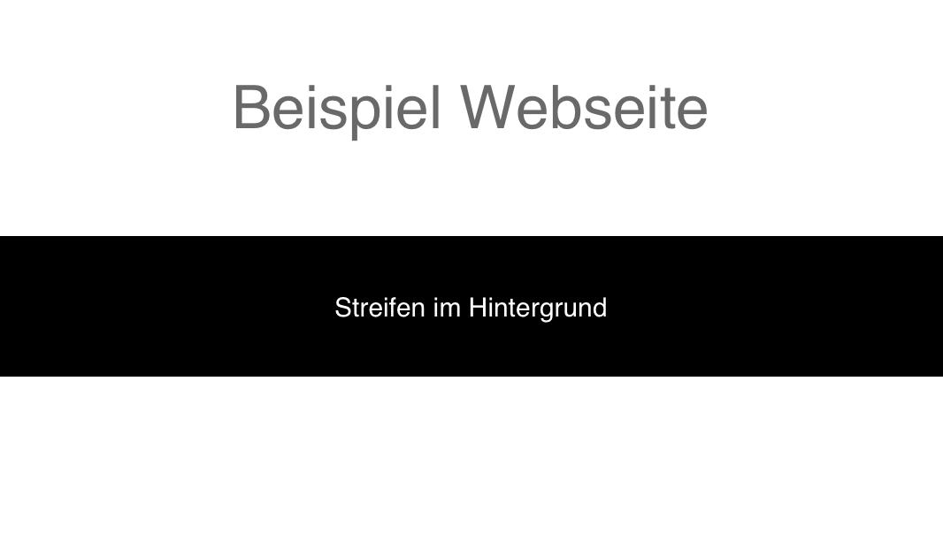 Wie schreibt sich auf HTML ein einfaches \