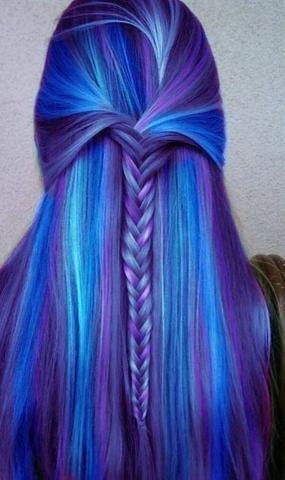 Haare. - (Haare, Farbe, färben)