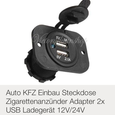 Wie sichere ich Einbau USB in KFZ ab?