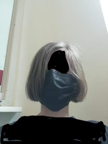 Wonach sieht diese Frisur aus?