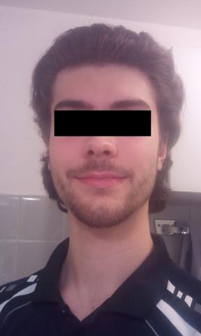 Frontansicht - (Haare, Mode, Frisur)